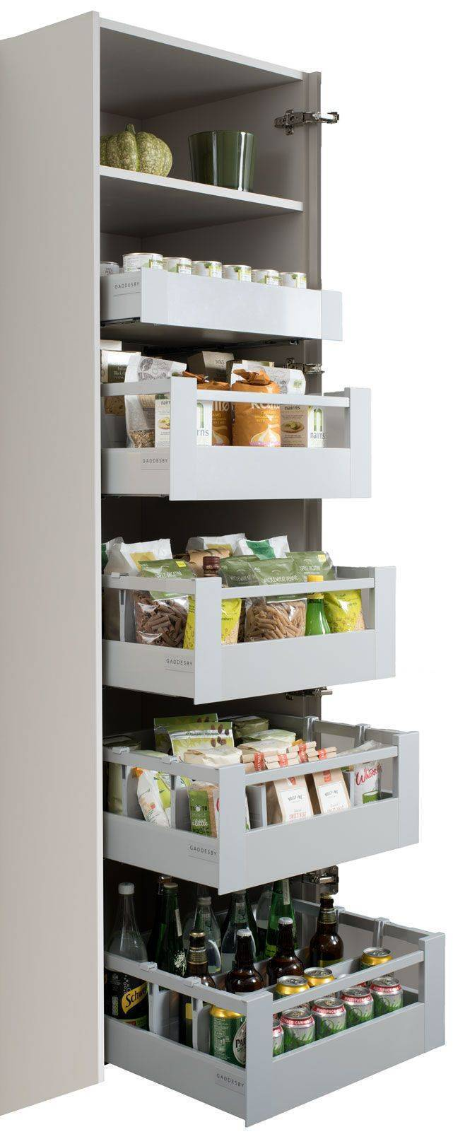 Space Tower Blum Antaro Drawer Set