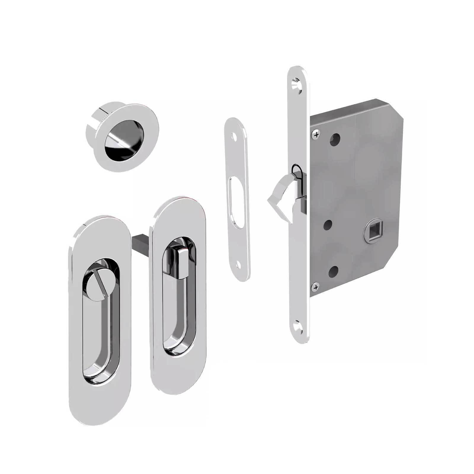 Sliding Door Lock For Bathroom Doors