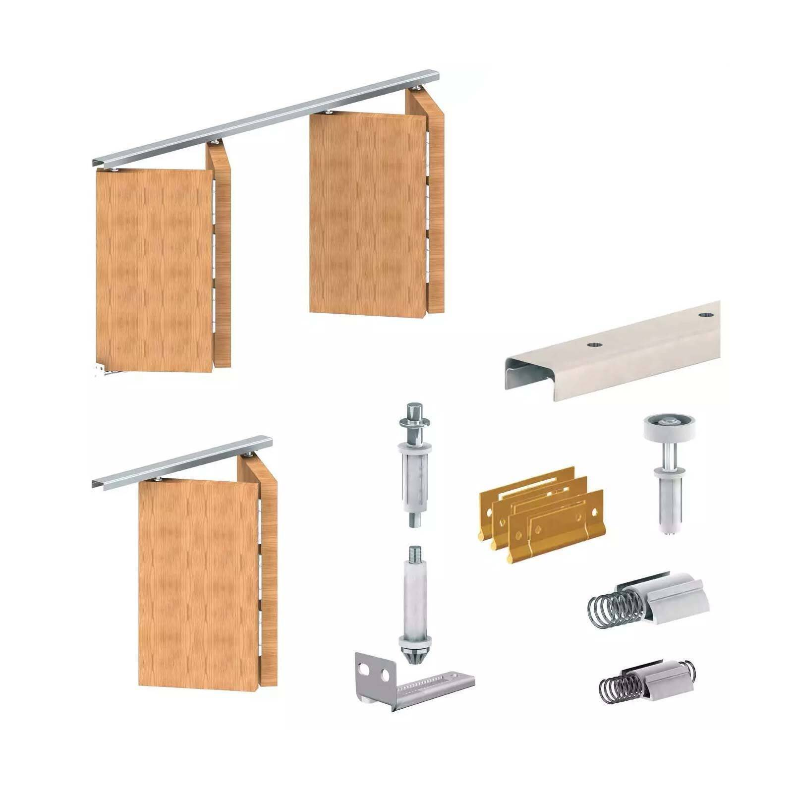 Apollo Folding Door Gear DIY Track Kit