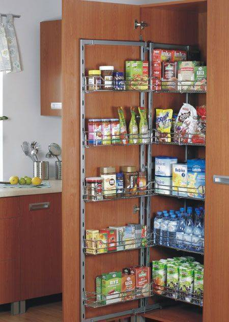 Chefs Pantry Tandem Larder Unit Full Or 3 4 Height