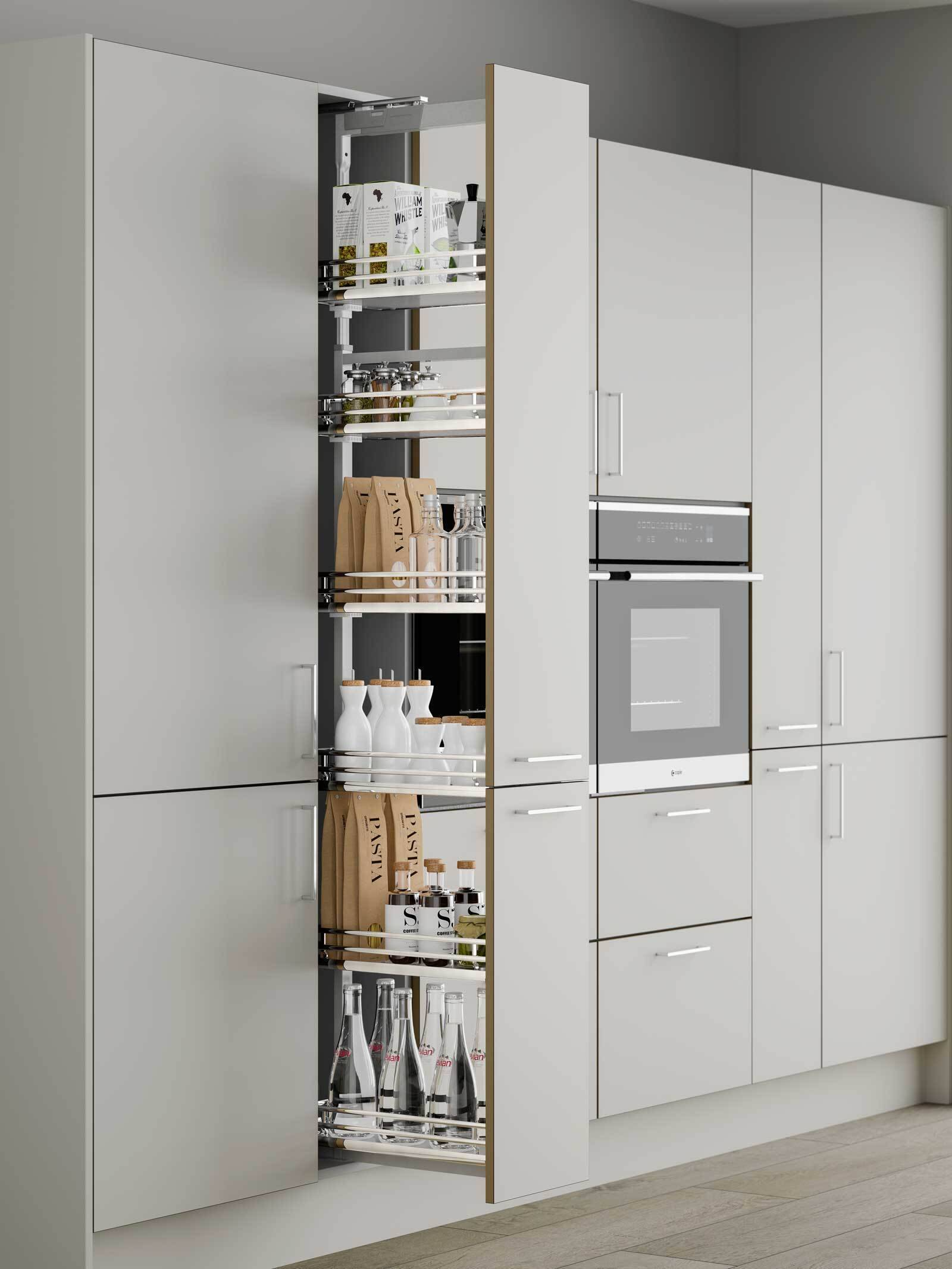Kitchen Wall Cabinet With Pocket Door